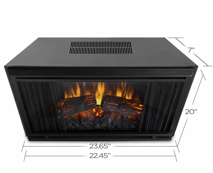 Realflame Electric Firebox Insert Model 4099 Just Fireplaces