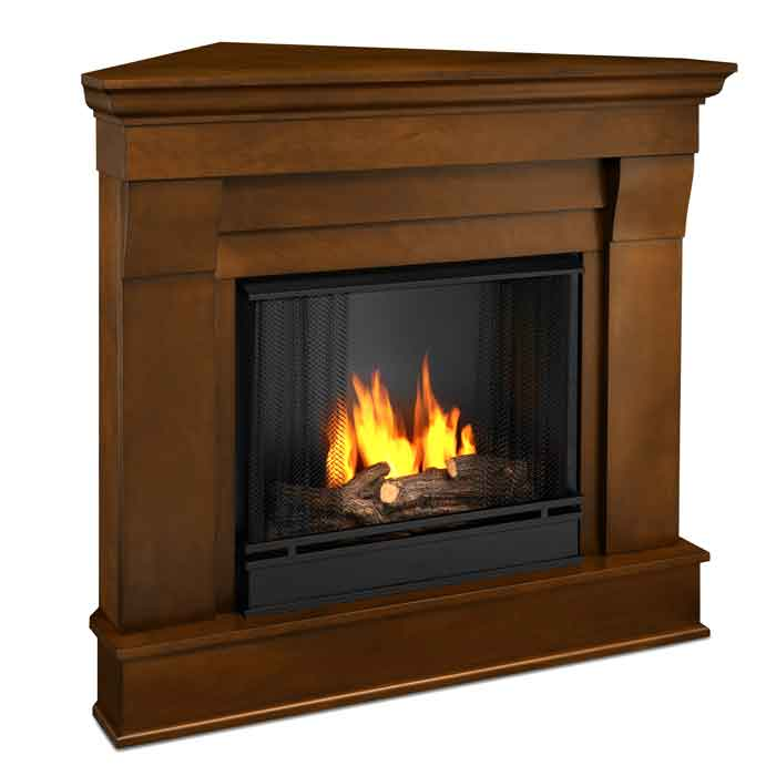 The Chateau 5950 E Corner Gel Fireplace Just Fireplaces