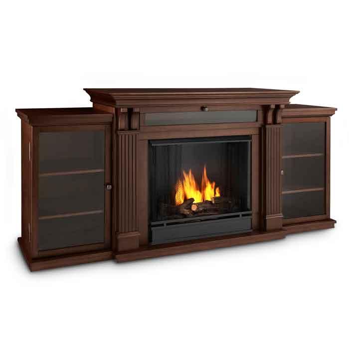 Ashley 7720 De Dark Esp Media Gel Fuel Fireplace Just