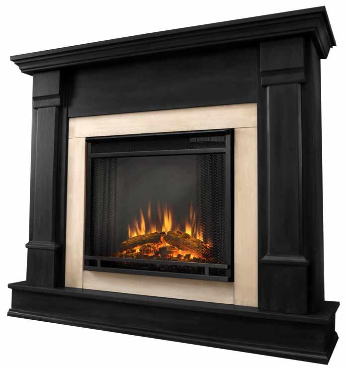 Silverton G8600e B Black Electric Fireplace Just Fireplaces