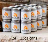 Real Flame 2101 Gel Fuel - Case of 24 Cans